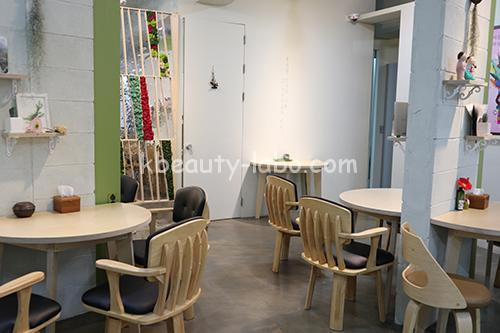 ハヌルホス大邱東城路店カフェ