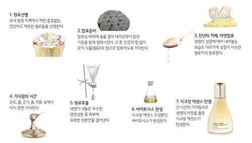 スム自然発酵過程