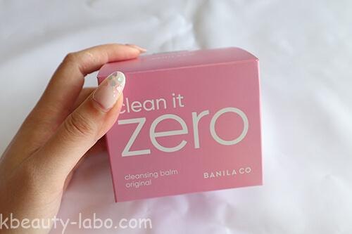 clean it ZEROオリジナルレビュー
